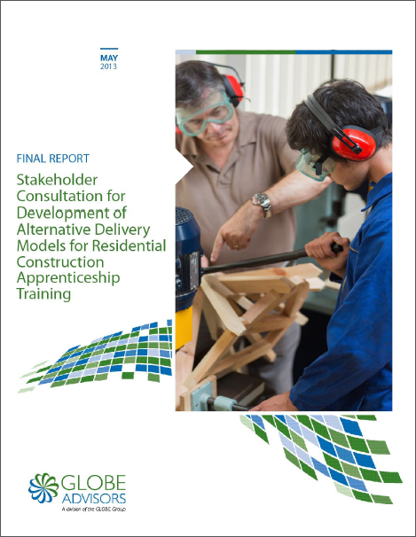 BC Residential Construction Training Consultation Final Report